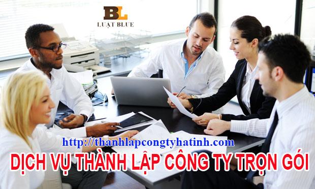 Thành lập công ty tại Hồng Lĩnh